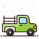 pickup, transport, truck, vehicle icon