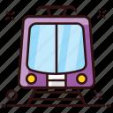 local transport, railway, railway track, train, transport