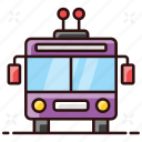 cable bus, electric bus, tramcar, tramway, trolleybus