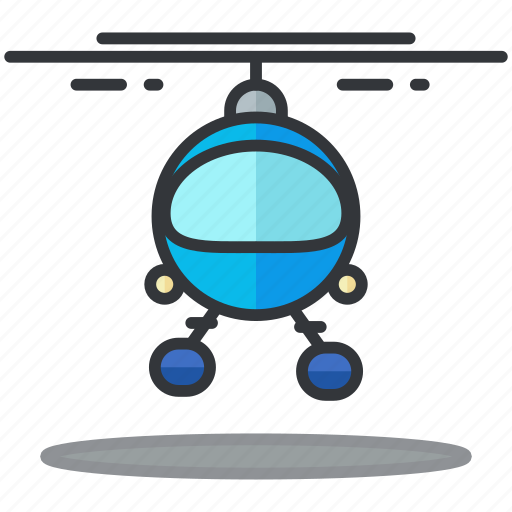chopper, helicopter, transportation, travel, vehicle icon
