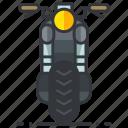motorcycle, transportation, motorbike, vehicle icon