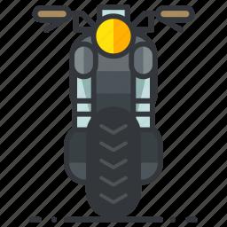 motorbike, motorcycle, transportation, vehicle icon