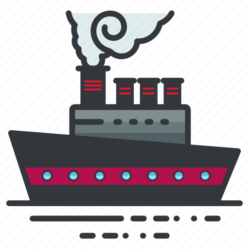 boat, ocean, sea, ship, transportation icon