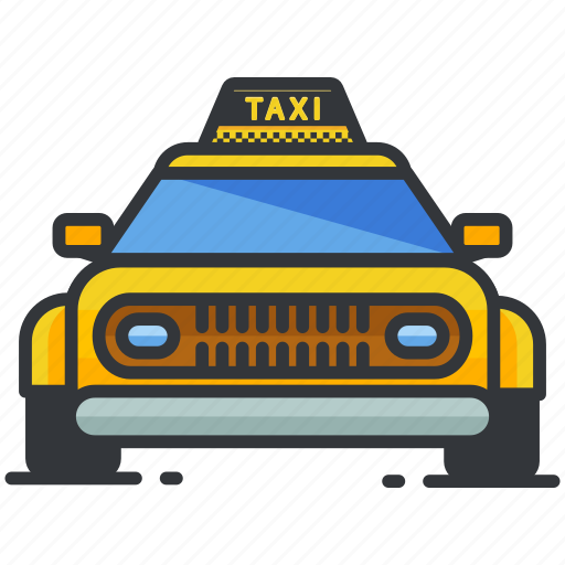 cab, car, taxi, transportation, vehicle icon