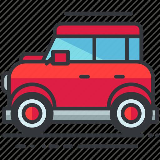 car, transportation, van, vehicle icon