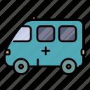 car, ambulance, hospital, emergency