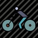 bike, bicycle, transport