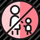 road, sign, no, pedestrian, crossing
