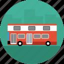 bus, coach, vehicle