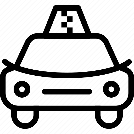 automobile, cab, car, creative, driver, engine, grid, motor, petrol, road, shape, taxi, traffic, transport, transportation, travel icon