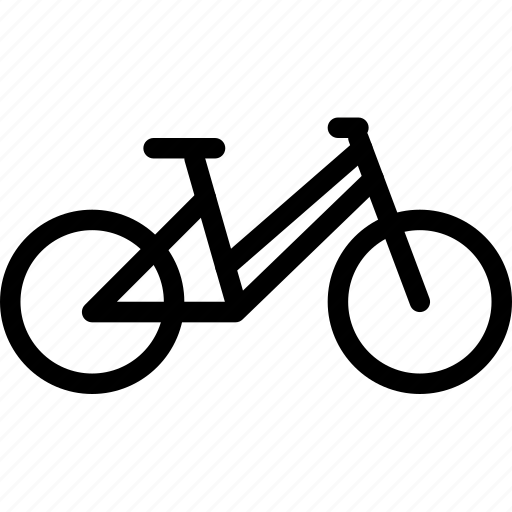 bicycle, creative, cycling, cyclist, frame, grid, pedal, shape, transport, transportation, travel, vehicle, wheel icon
