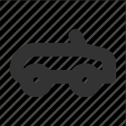 cabriolet, car, transp, transport icon
