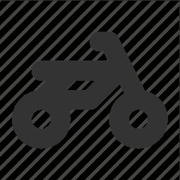 bike, motorbike, motorcycle, transp, transport icon