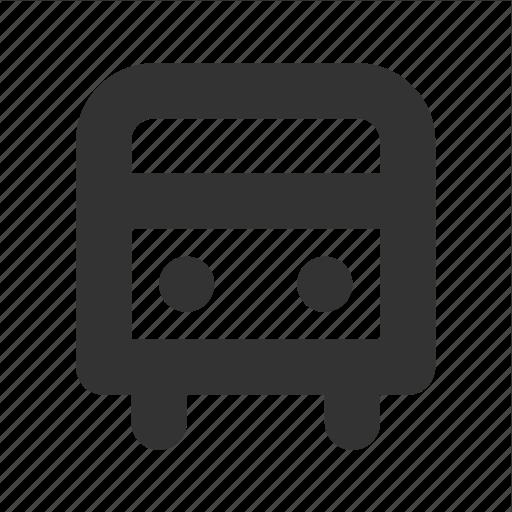 bus, transp, transport icon