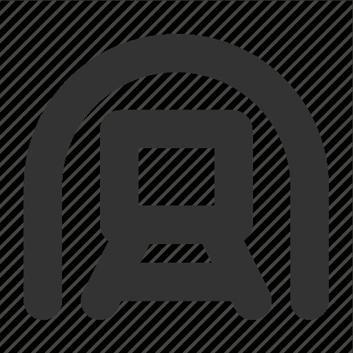 metro, subway, transp, transport, underground icon