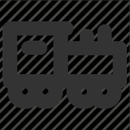 engine, locomotive, railway, transp, transport icon