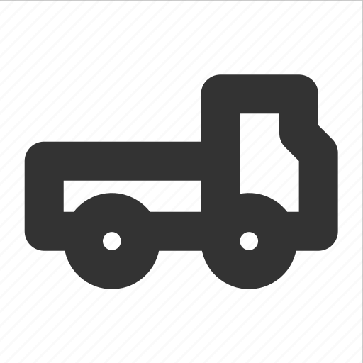 flatbed truck, transp, transport, truck icon