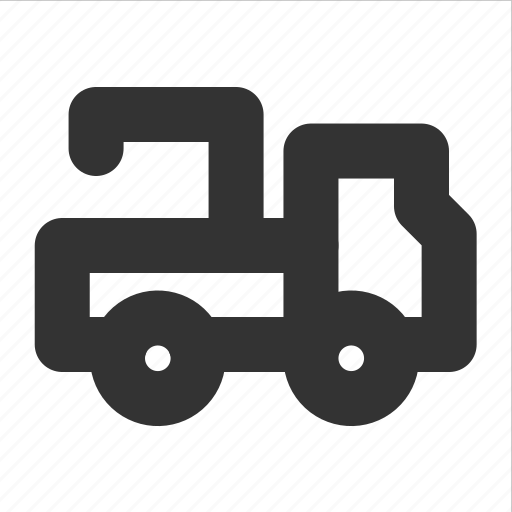 crane, evacuator, transp, transport, truck icon