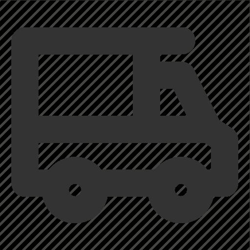 house on wheels, minivan, transp, transport, van icon