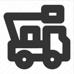 hoist, transp, transport, truck, vehicle icon