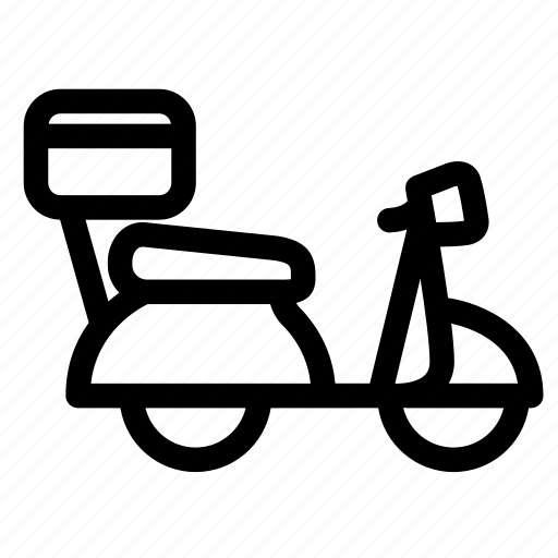 bike, delivary, delivery, shipping, transport, truck, vehicle icon