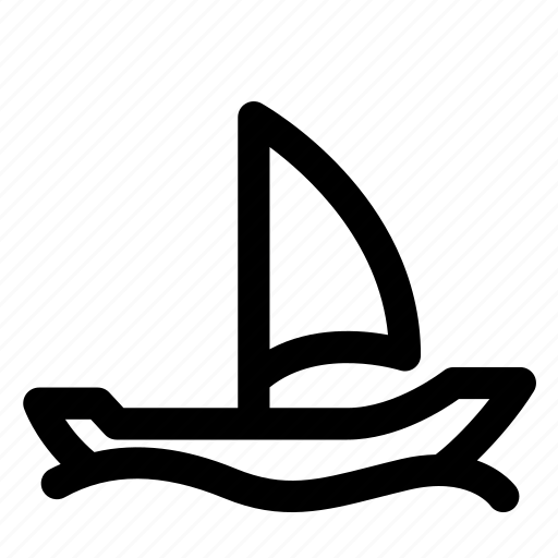 boat, cruise, sailing, transport, vessel icon