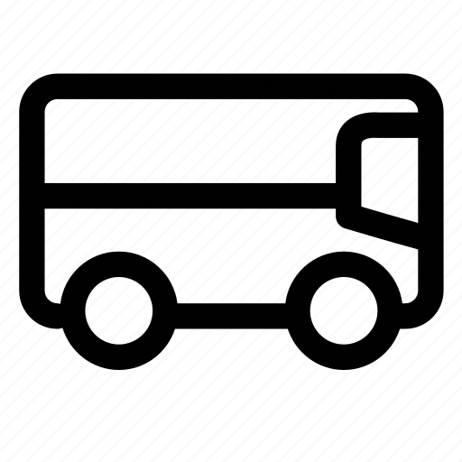 bus, service, transportation, travel, vacation, vehicle icon