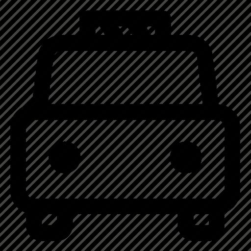 auto, automobile, car, road, transportation icon