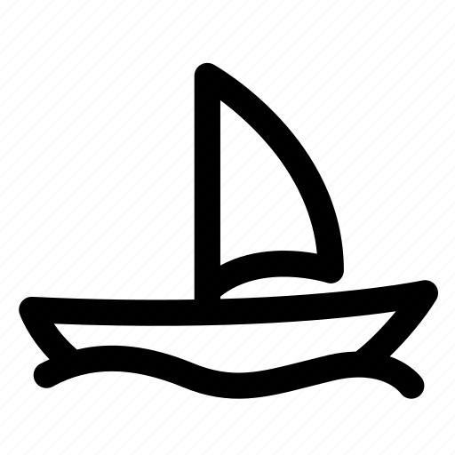 hotel, ocean, sail, sea, ship, travel, vehicle icon