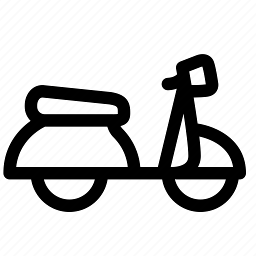 bike, cycling, motorcycle, scooter, travel, van, vehicle icon