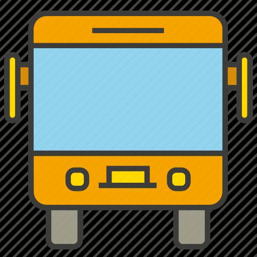 bus, car, transit, transport, vehicle icon