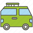 car, transit, transport, van icon