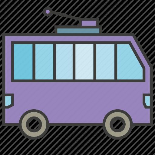 bus, car, portage, traffic, transit, transport icon