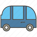 car, portage, traffic, transit, transport, van icon