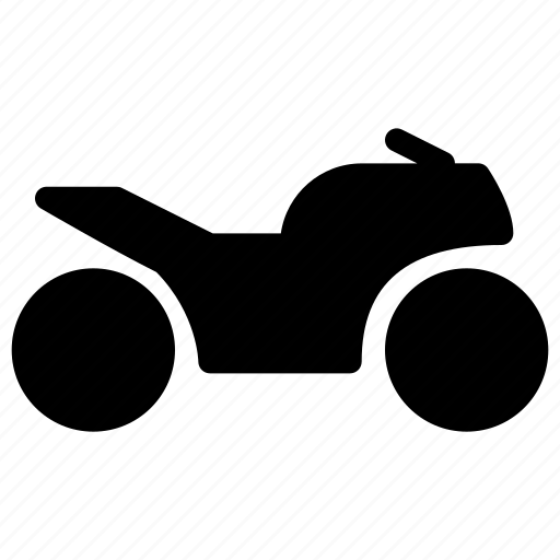 creative, fast, grid, motorbike, motorcycle, racing, shape, speed, sport, traffic, transport, transportation, vehicle icon