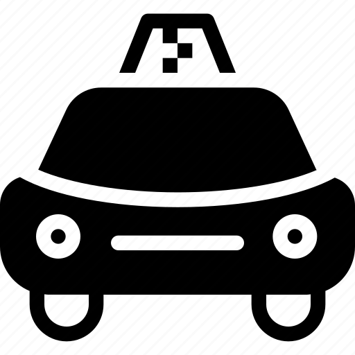 car, creative, delivery, diesel, engine, grid, motor, petrol, road, shape, taxi, transport, travel, vehicle × icon