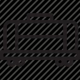 automobile, car, tank wagon, transport, transportation, travel, vehicle icon