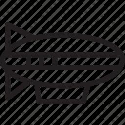 automobile, car, transport, transportation, travel, vehicle, zeppelin icon