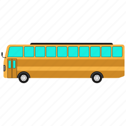 big vehicle, bus, vehicle icon