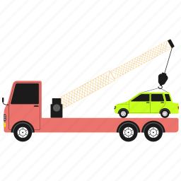 car, delivery, furniture, shipping icon