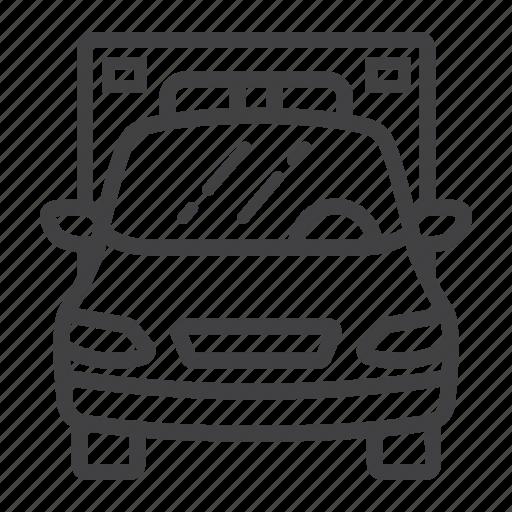 ambulance, emergency, hospital, medicine, transport, transportation, vehicle icon