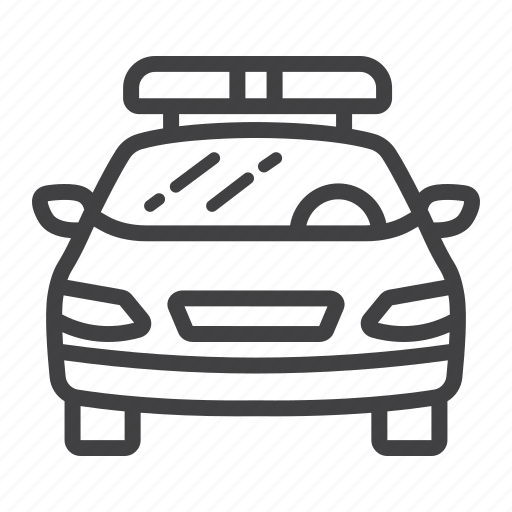 automobile, car, cop, police, siren, transport, transportation icon