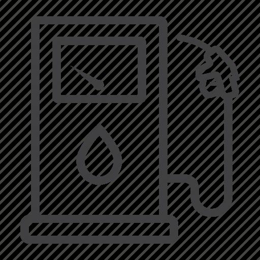 Diesel, fuel, gas, gasoline, petrol, pump, station icon - Download on Iconfinder