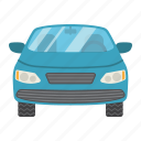 automobile, car, sedan, sign, transport, transportation, vehicle icon