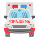ambulance, emergency, hospital, medicine, transport, transportation, vehicle icon