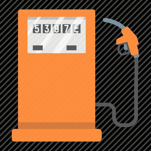 diesel, fuel, gas, gasoline, petrol, pump, station icon