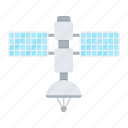 communication, satellite, space, tracking, transport, transportation, vehicle icon