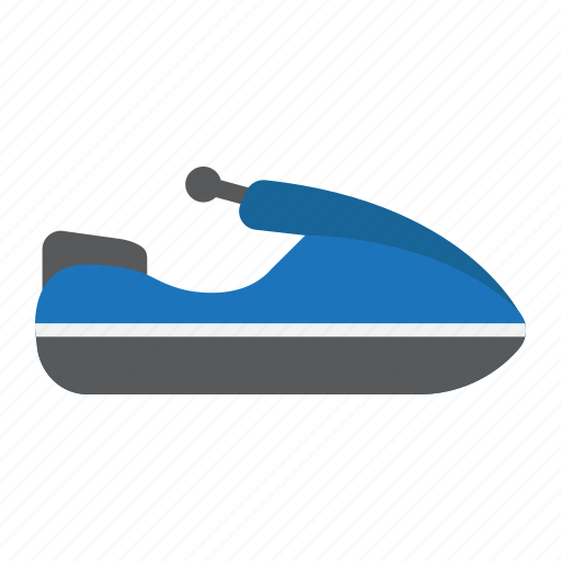 jet, scooter, ski, transport, transportation, vehicle, water icon