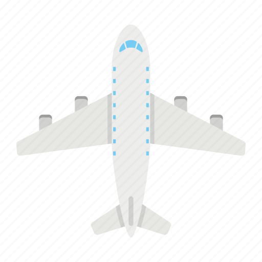 air, aircraft, airplane, plane, transport, transportation, vehicle icon