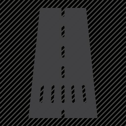 asphalt, crosswalk, highway, road, traffic, travel, way icon